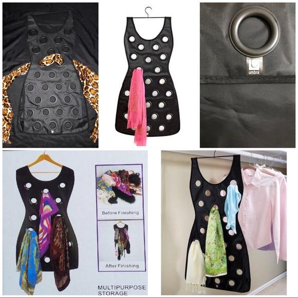 Umbra Accessories The Little Black Dress Scarf Holder By Poshmark